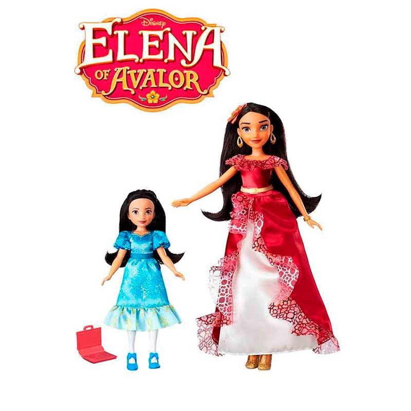 Muñecas Princesas Elena de Avalor y Isabel