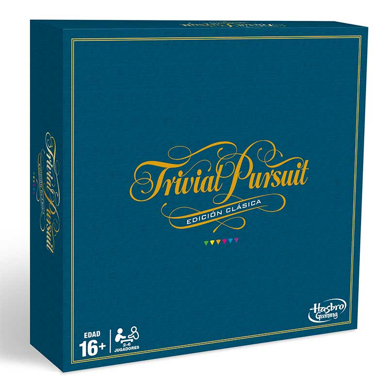 Juego Trivial Pursuit Edición Clásica hasbro