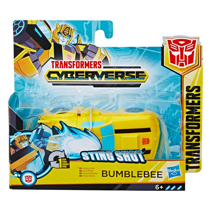 Transformers Cyberverse one step