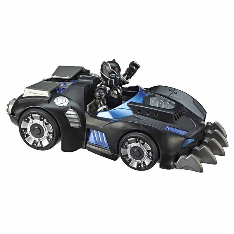 Super Hero Adventures Mega Minis Figura e Veículo