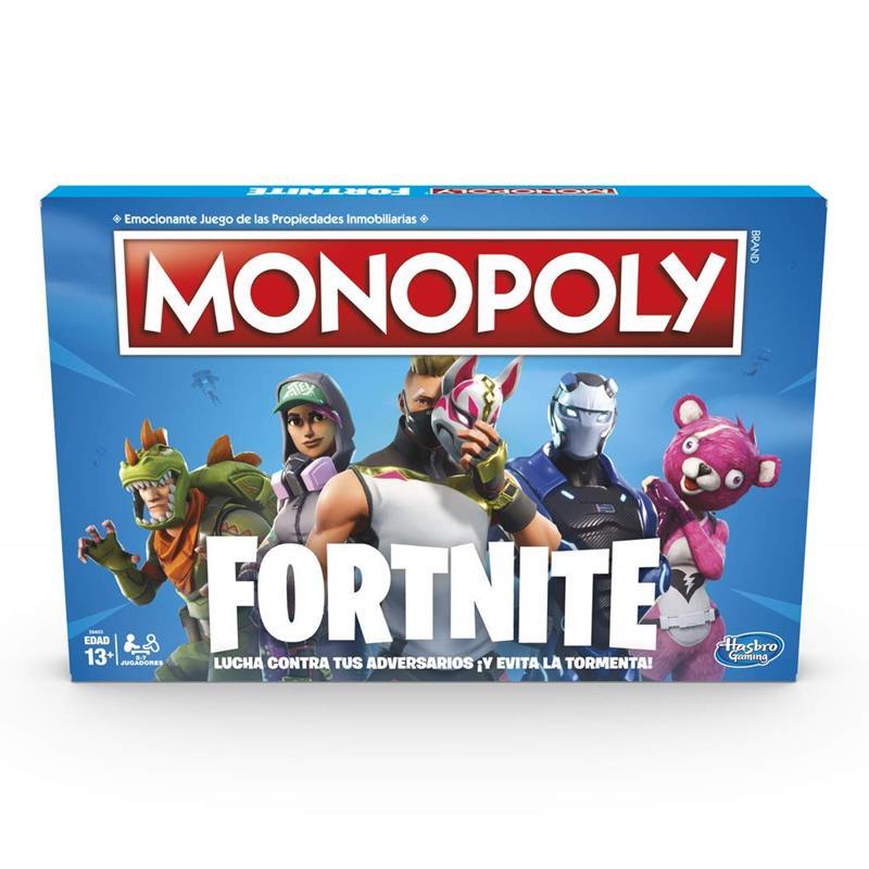 Juego Monopoly Fortnite
