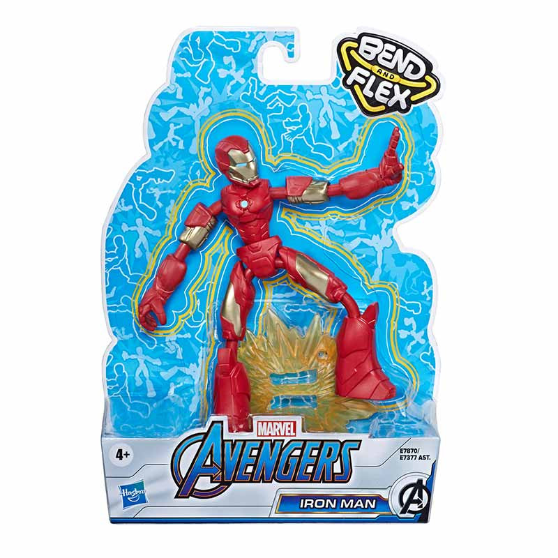 Avengers bend and flex figura Iron Man 15cm