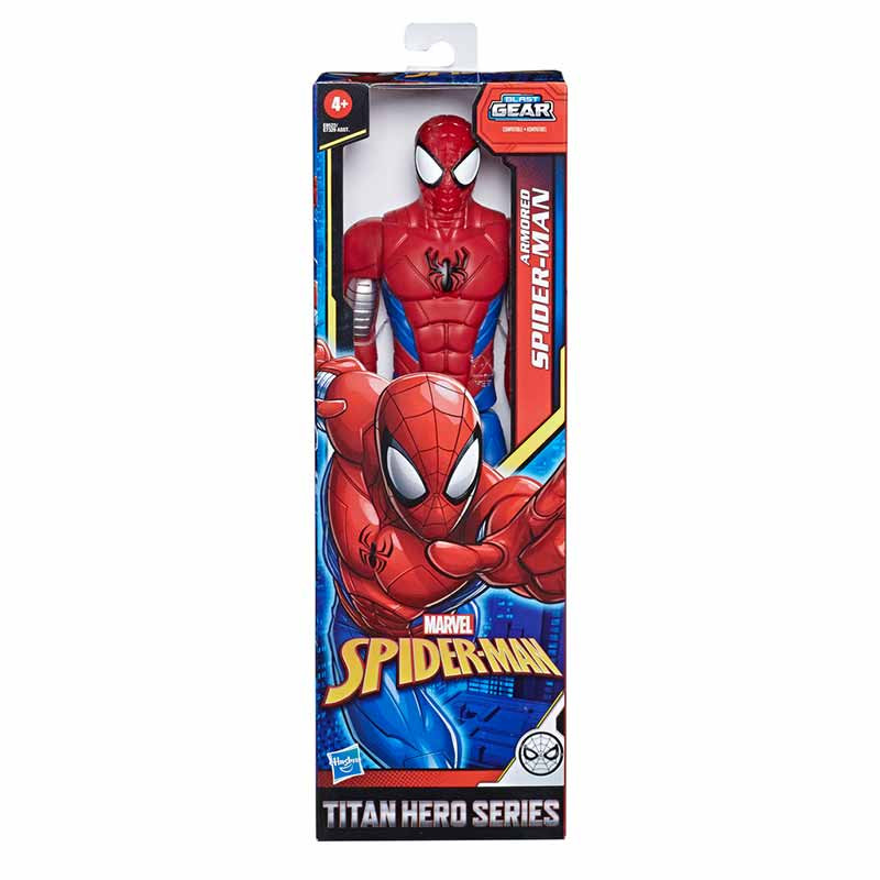 Spiderman figura articulada Armored Spiderman