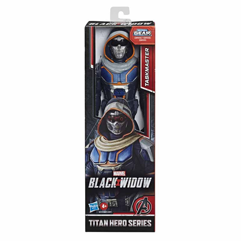 Avengers Black Widow figura titán Skull
