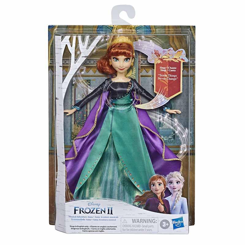 Princesas Disney Frozen II Anna cantarina