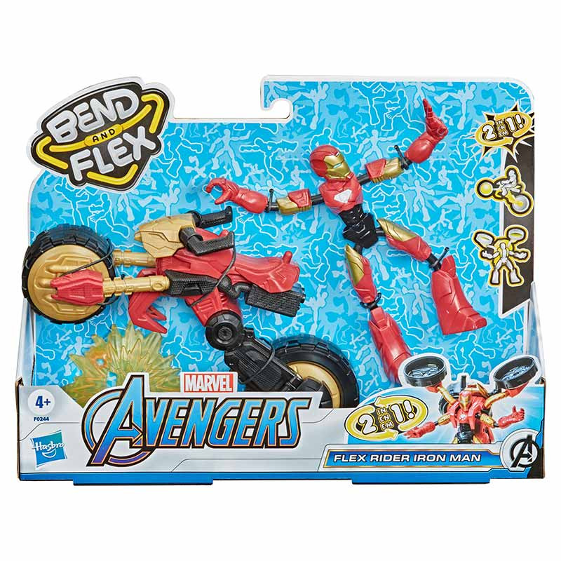 Avengers Bend and flex rider iron man