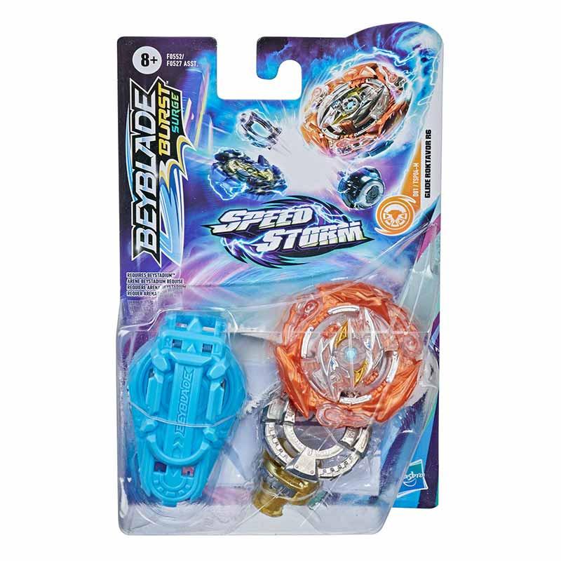 BeyBlade Speedstorm peonza y lanzador Glide Rokt