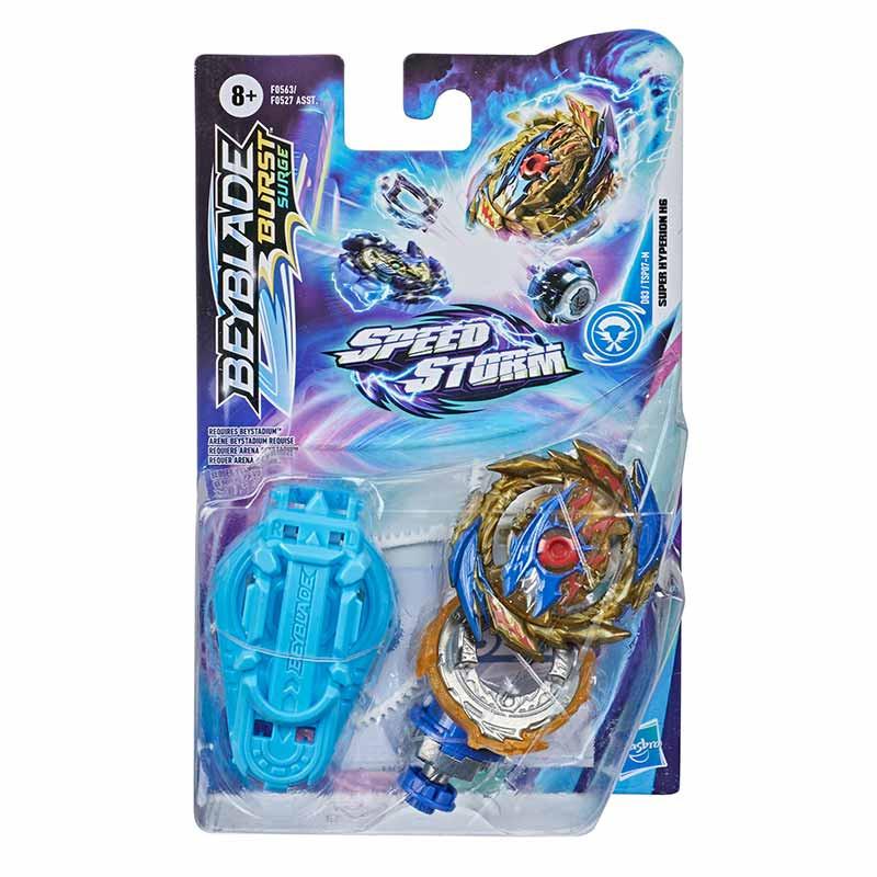 BeyBlade Speedstorm peonza y lanzador Super Hyper