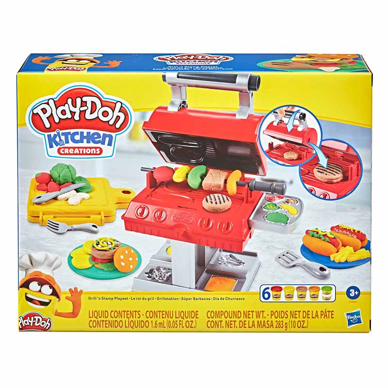 Play-doh super churrasqueira