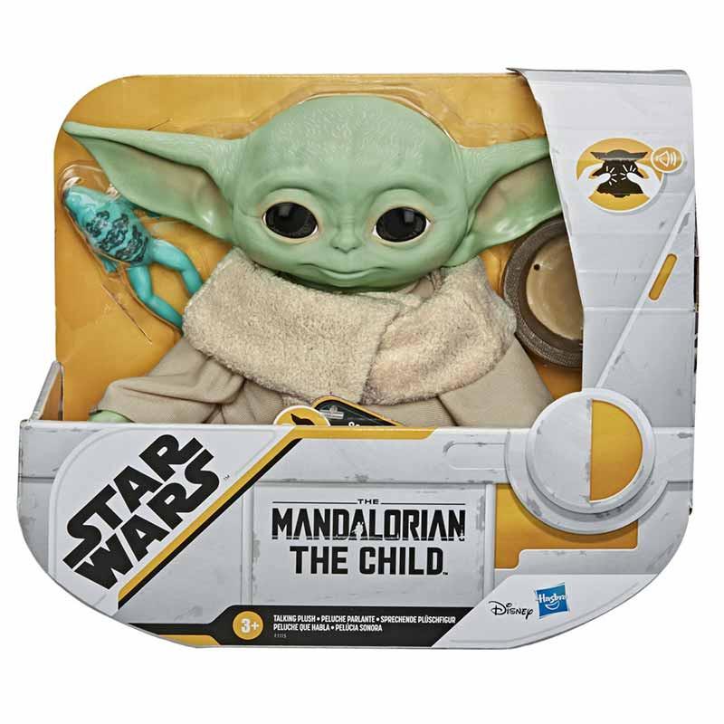 Star Wars The Child Brinquedo Eletrônico de Peluch