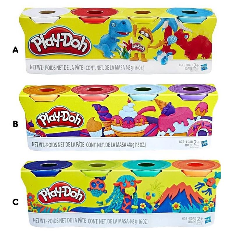 Play-Doh Pack de 4 botes