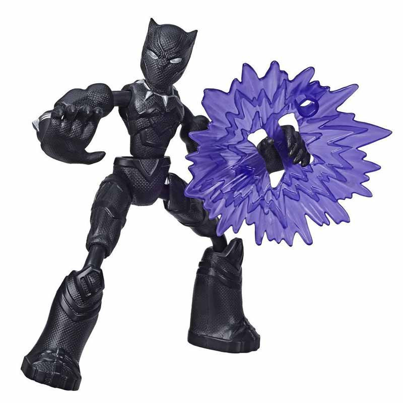 Avengers bend and flex figura Black Panther 15cm