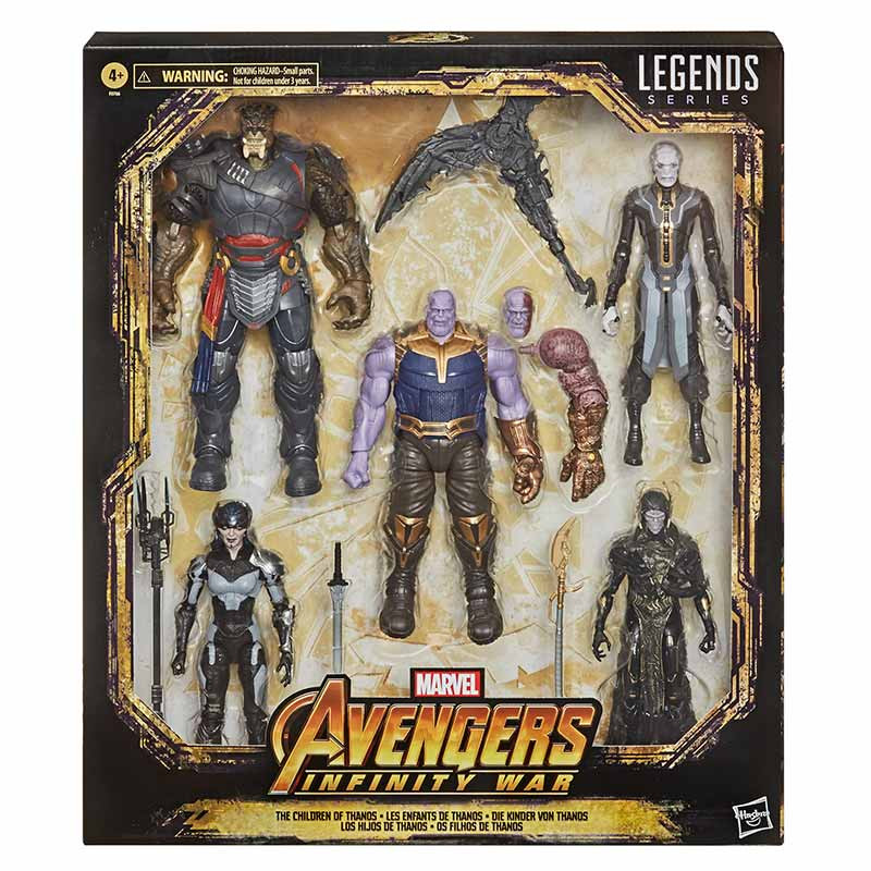 Hasbro Marvel Legends Kit Hijos de Thanos