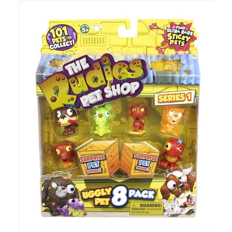 The Rudies pack 8 Mascotas