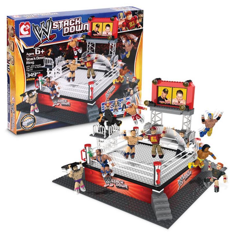 WWE C3 Ring Set Y figuras