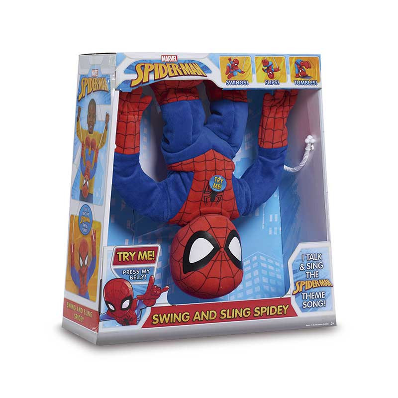 Spiderman swing and sling