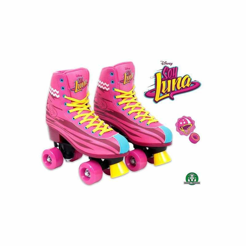 Soy Luna patines roller training