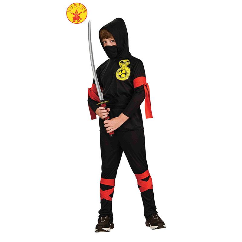 Disfraz Ninja Negro Inf
