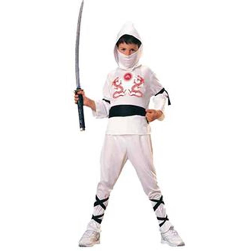 Disfraz Ninja Blanco Infantil