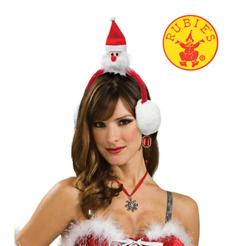 Diadema Navidad Santa Claus