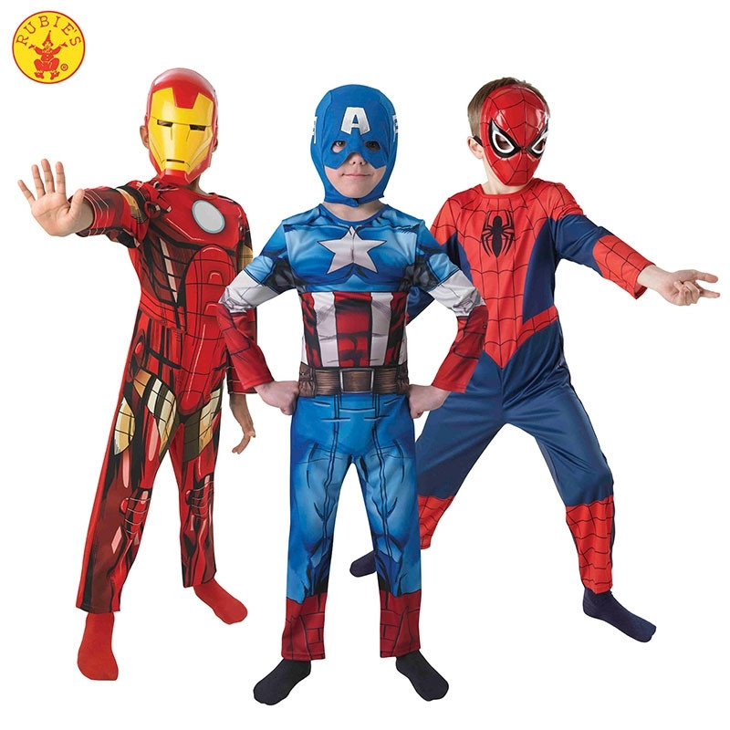 Disfraz Marvel Ultimate Tripack Infantil en Caja