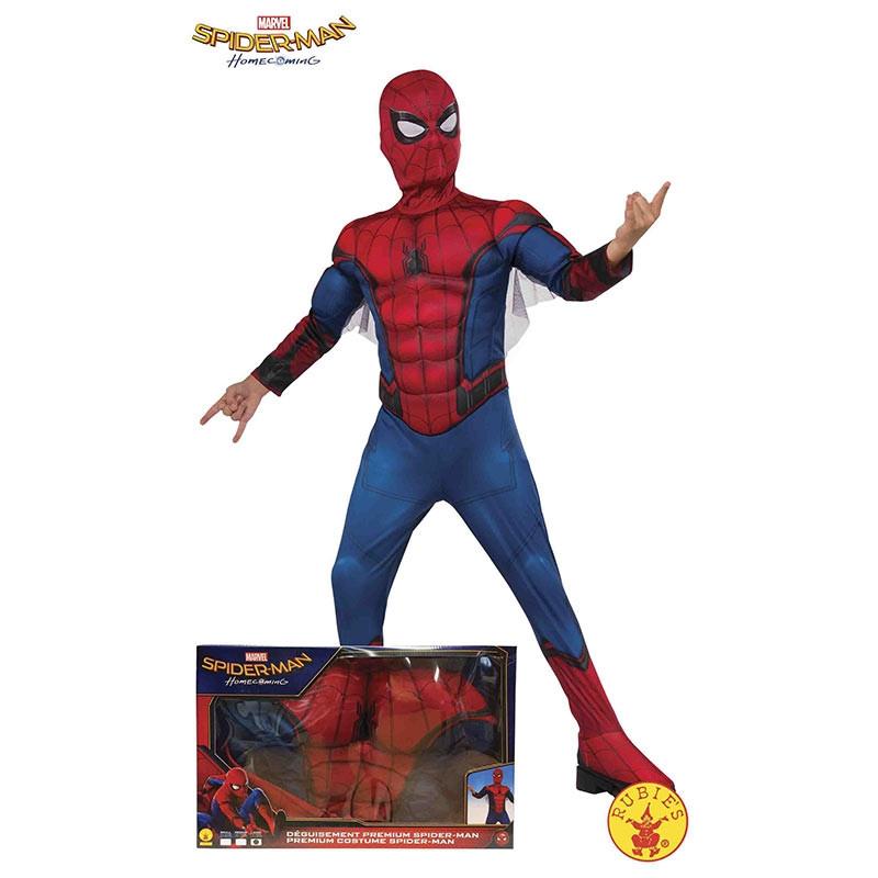 Disfraz Spiderman musculoso Caja inf