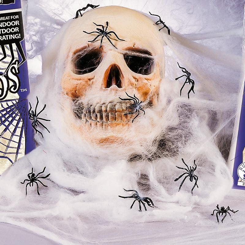 Telaraña Halloween blanca gigante