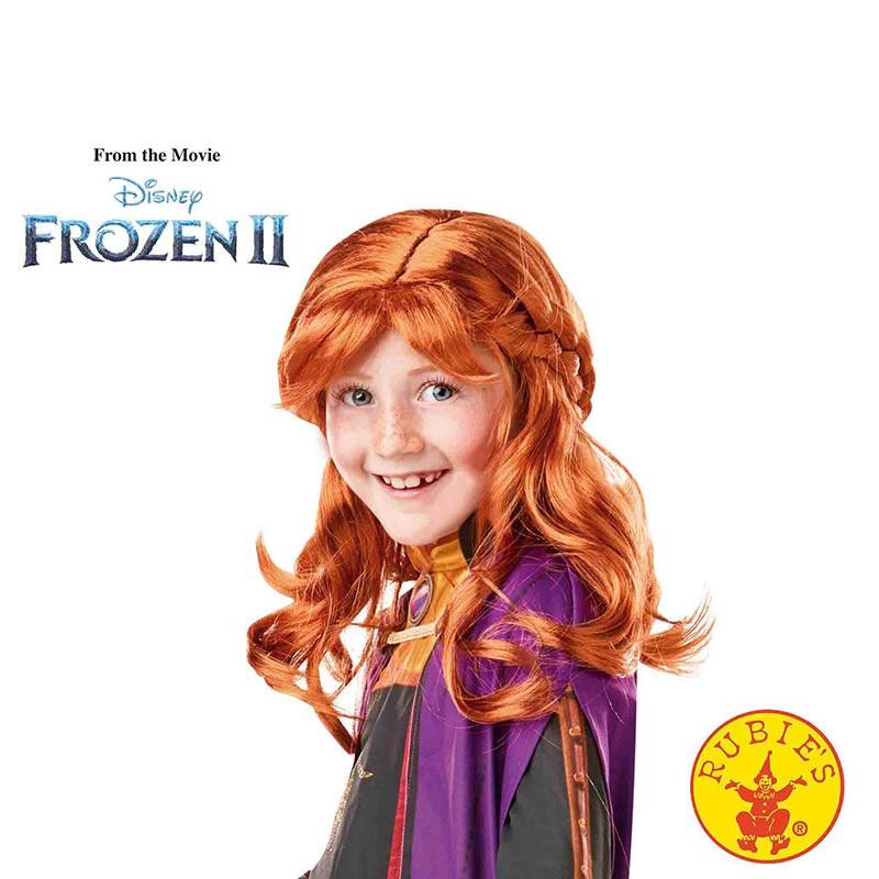 Peluca Anna Frozen 2 INF