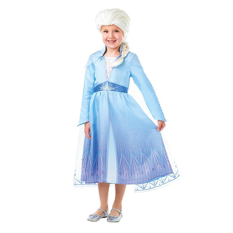 Disfraz Elsa Con Peluca Frozen2 Caja Inf