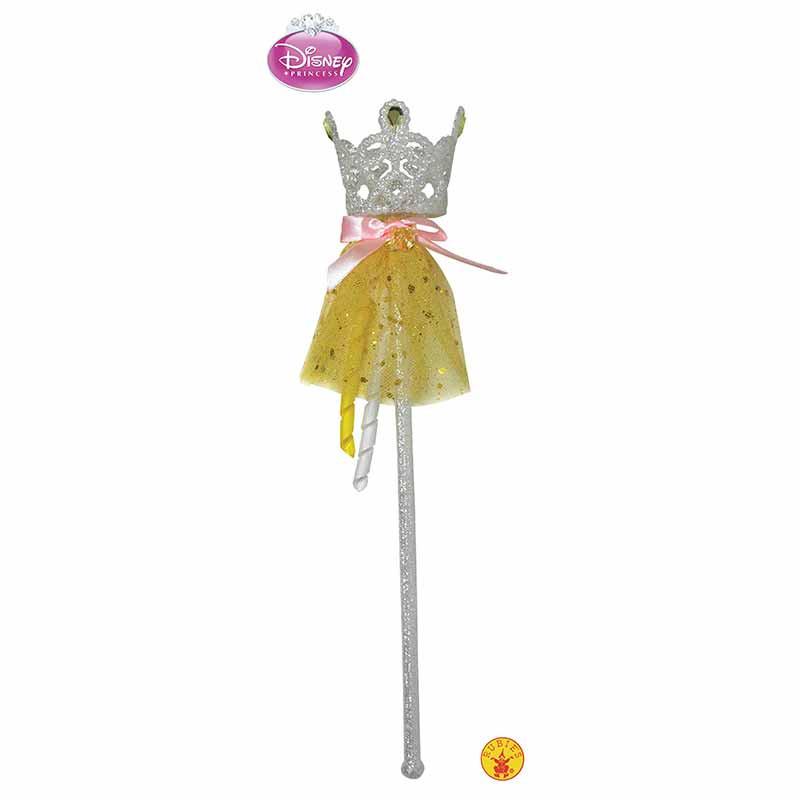 Princesas Disney varita glitter Bella