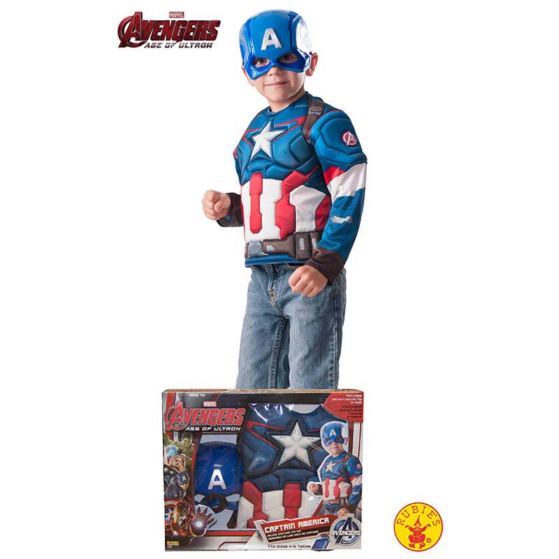 Disfraz Capitán América inf