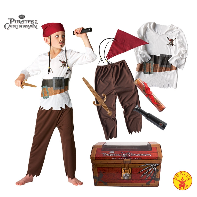 Disfraz Piratas del Caribe Infantil