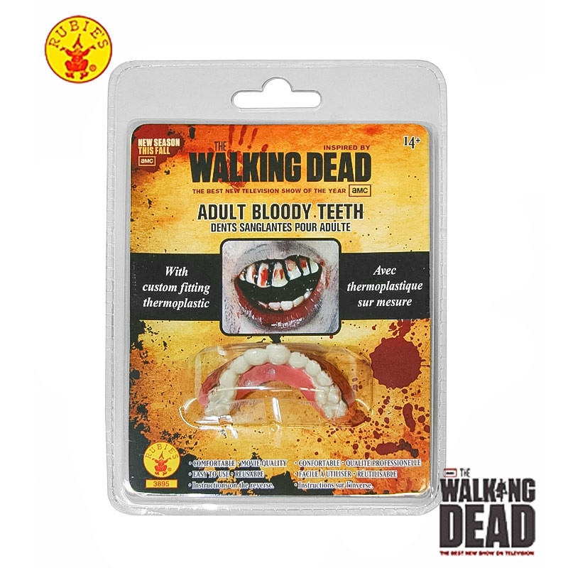Dientes de Zombie The Walking Dead