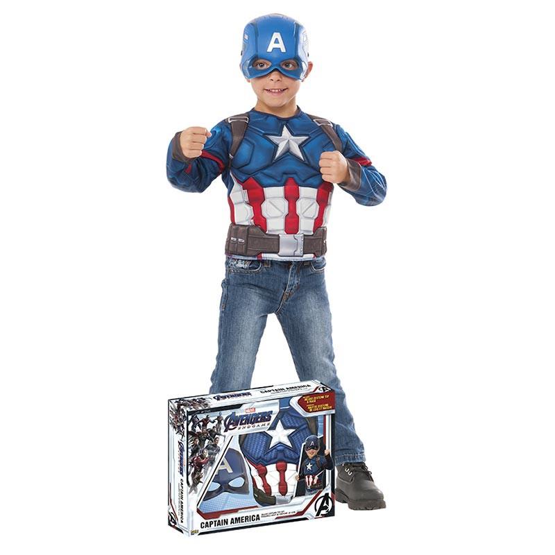 Disfraz Capitan America Endgame Inf