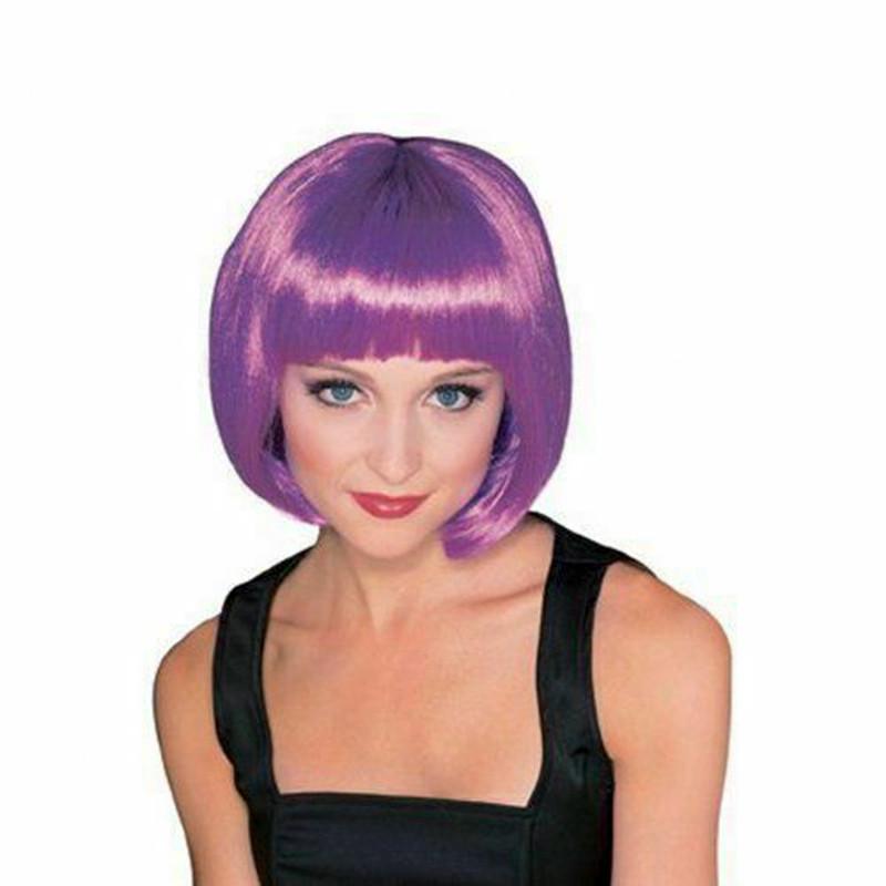Peluca Broadway violeta