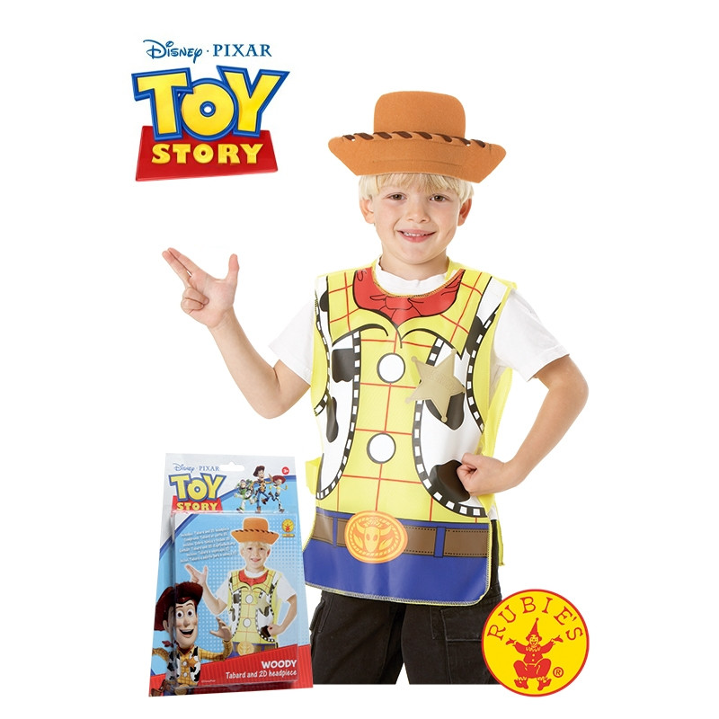Disfraz Woody Blister Set Infantil