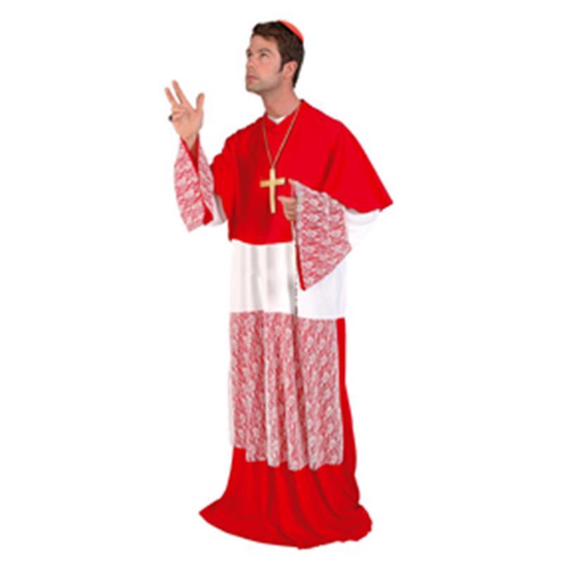 Disfraz Cardenal Adulto