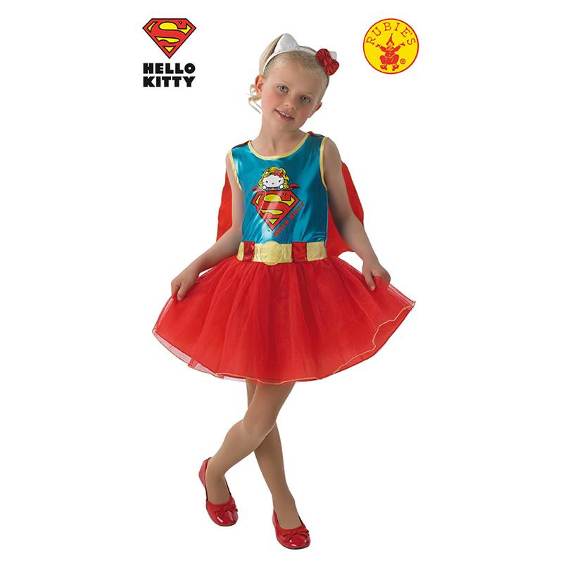 Disfraz Super Girl Hello Kitty Infantil