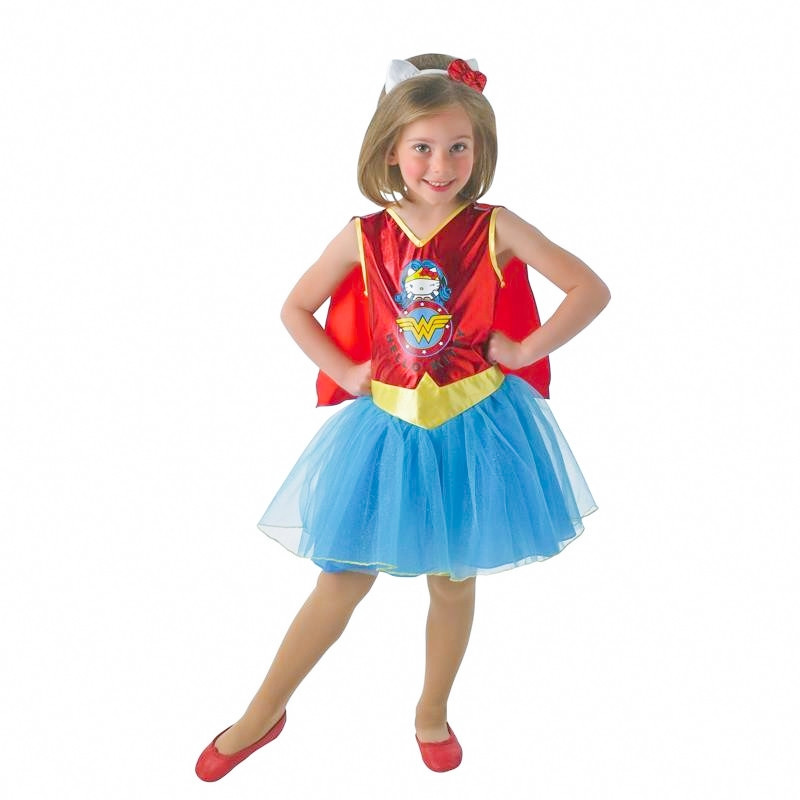 Disfraz Wonder Woman Hello Kitty Infantil