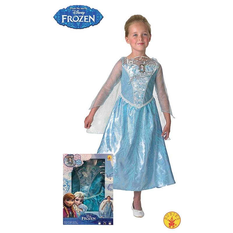 Disfraz Elsa Frozen luz e música inf