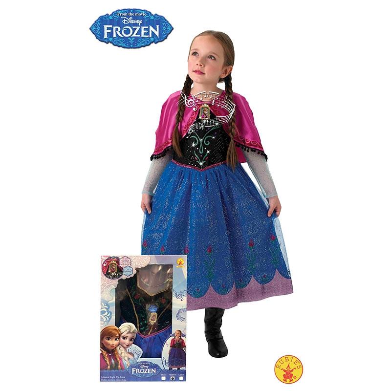 Disfraz Anna Frozen luz y musica inf