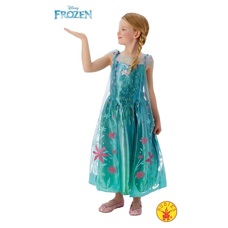 Disfraz Elsa Frozen Fever Deluxe inf