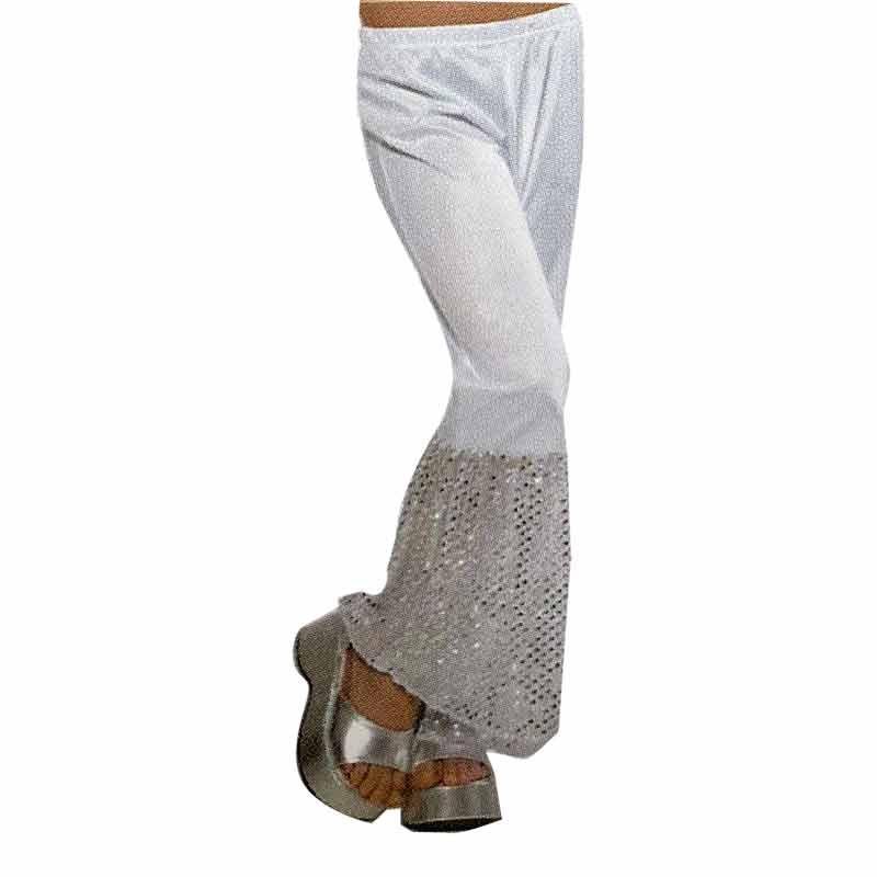 Pantalones Blancas con volantes T/140