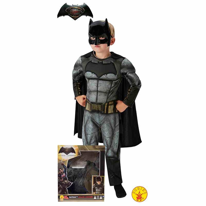 Disfraz Batman musculoso caja infantil