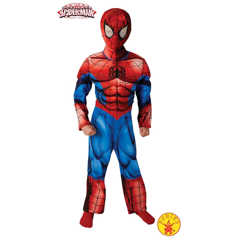 Disfraz Ultimate Spiderman premium inf