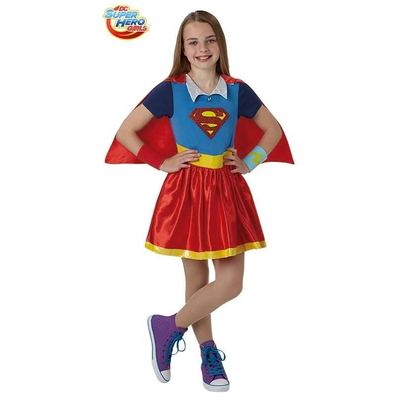 Disfraz Supergirl deluxe infantil