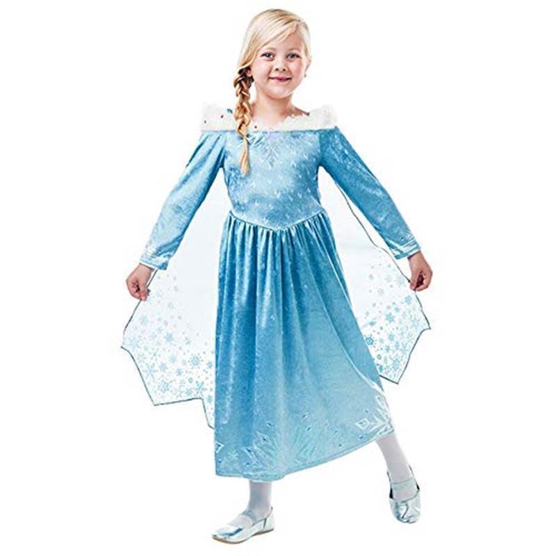 Disfraz Elsa deluxe Frozen Adventure infantil