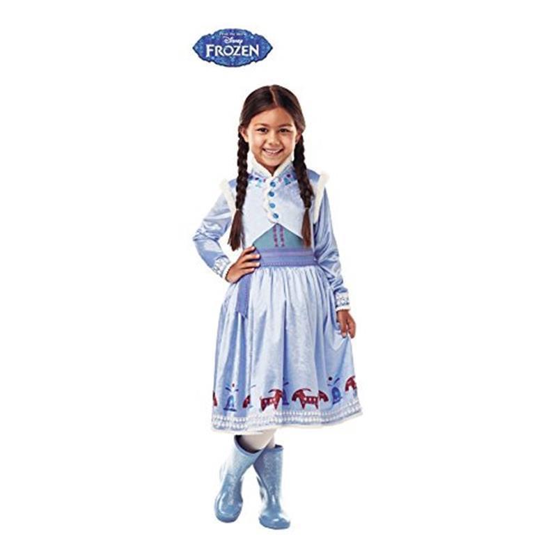 Disfraz Anna deluxe Frozen Aventure infantil