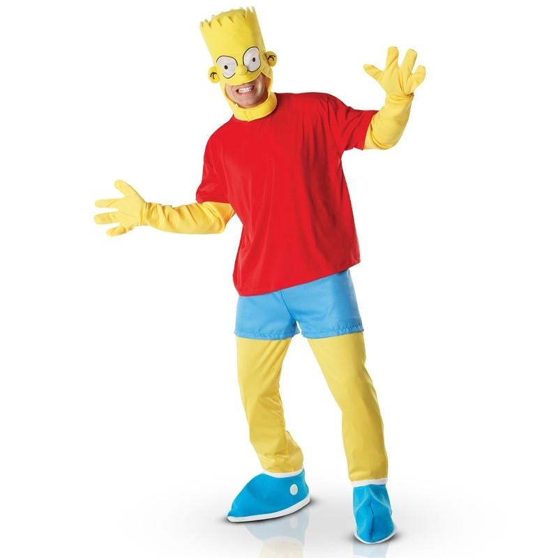 Disfraz Bart Simpson deluxe adulto