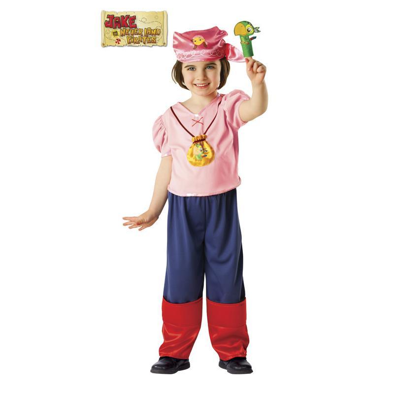 Disfraz Izzy de Jake y los piratas Infantil